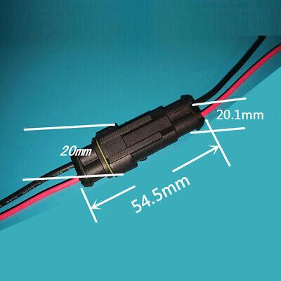 123456 Way 1p 2p 3p 4p 5p Auto Wire Connector Plug Male Female W Cable
