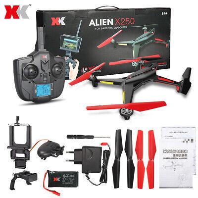 XK RC Drone Wltoys X250 Quadcopter WIFI FPV Camera 2.4G 4CH Black, UK