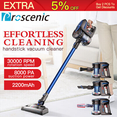 Proscenic P8 Cordless Vacuum Cleaner Handheld lightweight 2 in1 Upright Car Mop