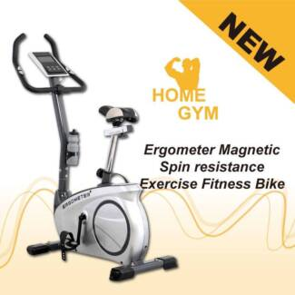 NEW Ergometer Magnetic Spin resistance Exercise Fitness Bike home Smithfield Parramatta Area Preview