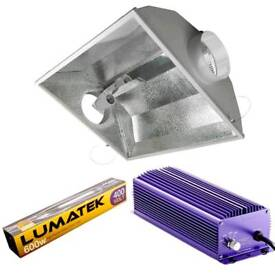 600W lumatek lights, ballast and cool tubes