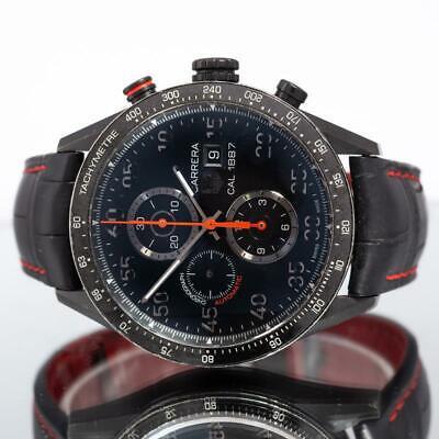 TAG Heuer Carrera Men's Black Watch - CAR2A80 Over £4500 new.