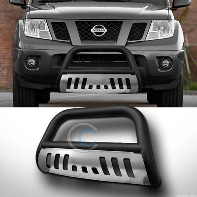 Fits 2005-2008 Nissan Frontier Classic Bull Bar Stainless Steel Chrome
