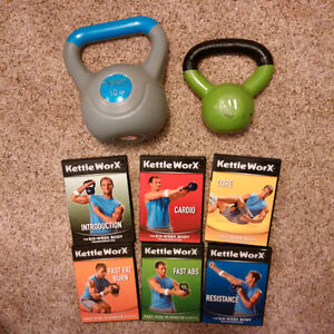 Kettle WorX Videos and weights