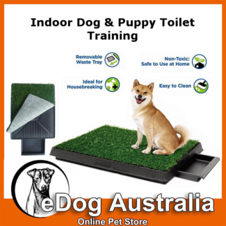 Portable indoor Pet Dog and Puppy Potty Toilet Training Grass Pad