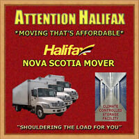 """HALIFAX NS MOVER"" - SPECIALIZING IN THE HALIFAX METRO AREA"