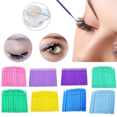 Disposable Cotton Swabs Applicator Makeup Micro Brush Swab Health Cleaning Tool Eyelash Tools