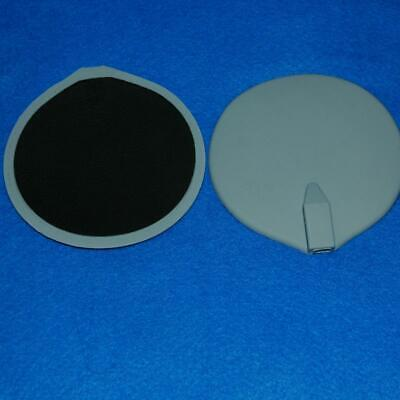 Round Tens Machine Ems Replacement Large Big Electrode Pads 95x95mm Reusable