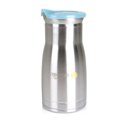 Home Kitchen Serveware Stainless Water Jug Drink Juice Pitcher Bar Party 30oz