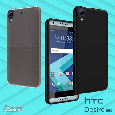 Matte Gel TPU Jelly Soft Case Cover For HTC Desire 650 Htc Desire Matte