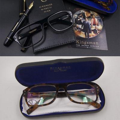 Movie Kingsman 2: The Golden Circle Eggsy Cosplay Glasses Eyeglasses (The Glasses Movie)