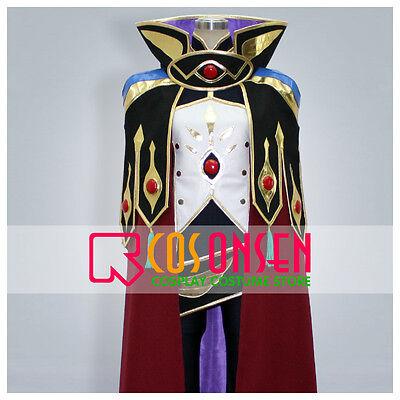 Cosonsen Code Geass R2 Suzaku Kururugi Knight of Zero Cosplay Costume Halloween - Code Geass Halloween
