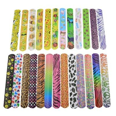 25PCS Slap Bracelet Snap Wristband Bangle Party Favors for C