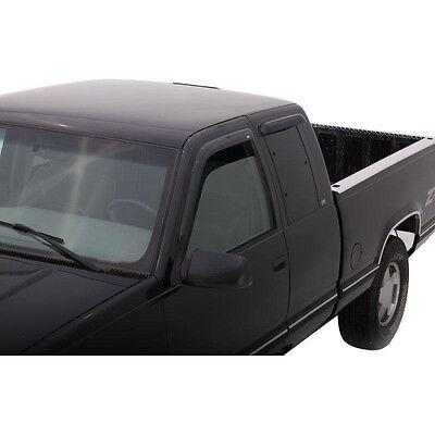 Vent visor Window Deflector Smoke 88-98 FOR Chevy silverado GMC Sierra EXTEND