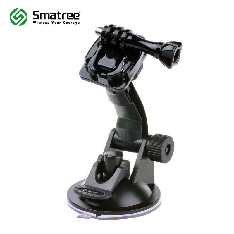 Smatree Suction Cup Mount for GoPro Hero 7/6/5/4/3+/3/2/1/Session