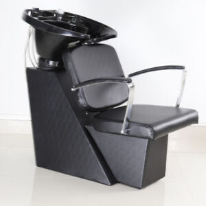 Hair Salon Chair Couch Backwash Hairdressing Styling Wash Basin Shampoo Sink Set