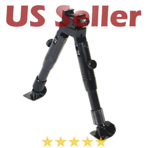 STEEL FEET NEW UTG Shooter's SWAT Bipod Picatinny Swivel Stu