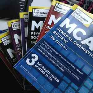 MCAT Books - Princeton Review 3rd Edition (latest)