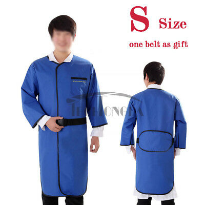 S Size 0.35mmpb X-ray Protection Apron Long Sleeve No-lead Vest Belt