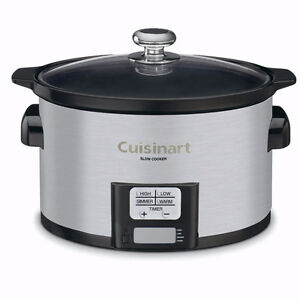Brand New Slow Cooker Cuisenart 3.5 l
