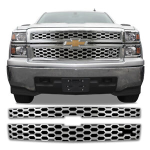Chrome Grill Overlay For Trucks - See List For Pricing - Sale