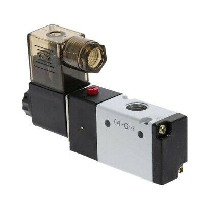 Dc 12V Neumático Eléctrico Solenoide Aire Válvula 3 Manera 2 Posición 1/4