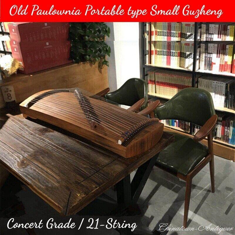 "Child 29"" 21-String Guzheng Portable Chinese Zither Harp Koto Concert Grade#1554"