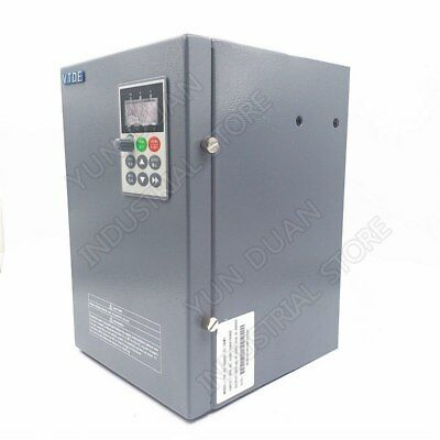 Vfd 11kw 380v 15hp Inverter 25a 3ph To 3phase Pid For Cnc Spindle Air Blower