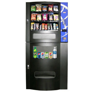 Pop/Snack Combo Vending Machines For Sale