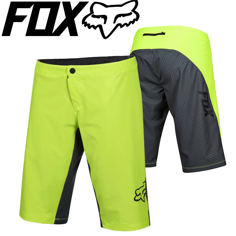Fox Ripley MTB Womens Shorts 2016 S M L XL Plum Fluro Yellow