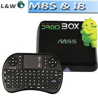 M8s Quad Core Boite Android TV Box 2GB KODI APPLE TV 2 KILLER