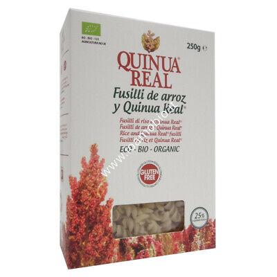 Quinua Real - Fusilli di Riso e Quinoa 250g - Pasta Bio...