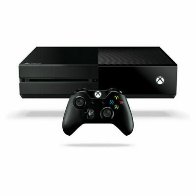 MICROSOFT  XBOX ONE CONSOLE + CONTROLLER  500GB BLACK Same Day Dispatch Free