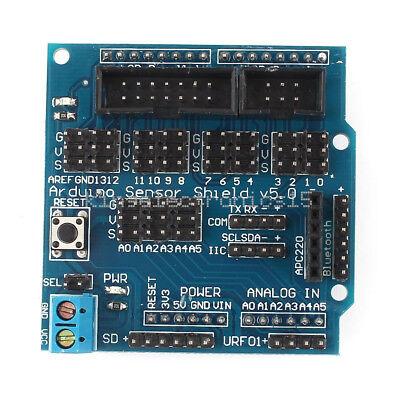 Sensor Shield Digital Analog Module Servo Motor For Arduino Uno R3 Mega V5