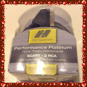 SUPER PREMIUM SCART – 3RCA PERFORMANCE PLATINUM WITH 5 METRES Chippendale Inner Sydney Preview