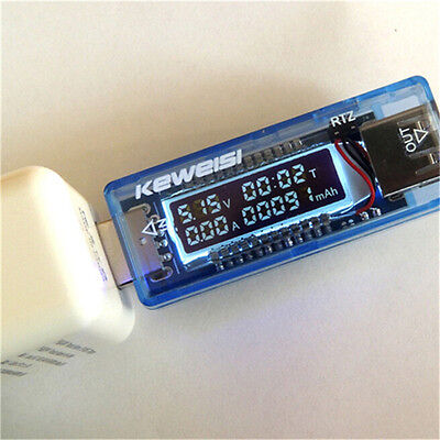 Premium New Keweisi USB Charger Doctor Mobile Power Detector Tester