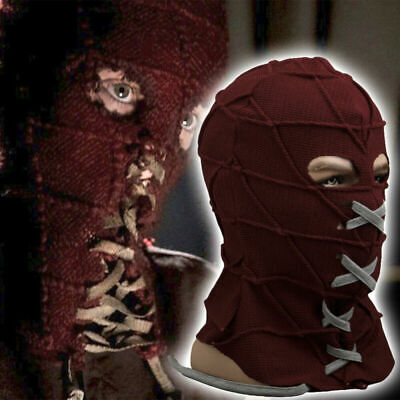 Scary Horror Mask Movie BrightBurn Costumes Red Hood Kids Cosplay Halloween pros