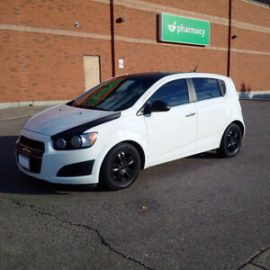 2012 Chevrolet Sonic LT Hatchback with 2 sets of tires!
