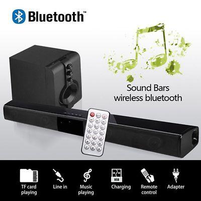 3D Barre de Son haut-parleur Bluetooth Soundbar Cinéma TV Surround Sound Speaker