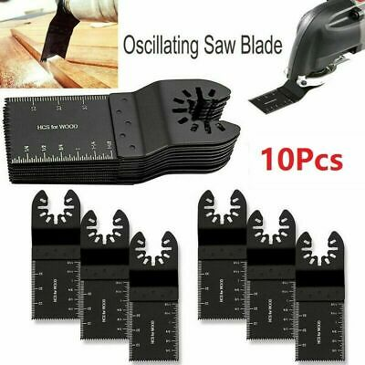 10pcs Oscillating Saw Blade Multi Tool For Dewalt Bosch Milwaukee Porter Cable