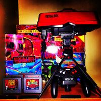 Nintendo Virtual Boy w/5 Games & Extras!!!! ^*<{MINT CIB}>*^