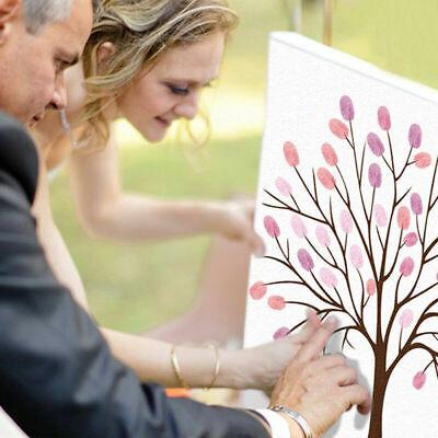 Thumb Print Fingerprint Tree Wedding Guest Book Guestbook Alternative Memory](Wedding Guest Tree)