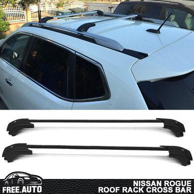 Fits 14-17 Nissan Rogue Roof Rack Cross Bar OE Fit Luxury (Coat Bar Coat Rack)