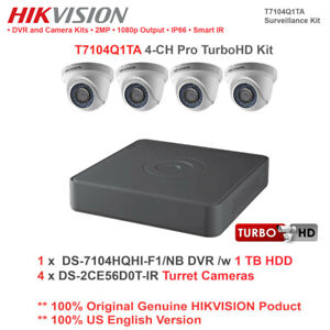 Hikvision TurboHD security camera system