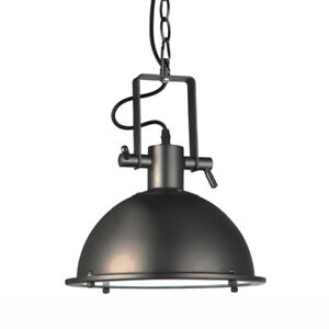 Architectural Bronze Industrial Dome LED Pendant Light