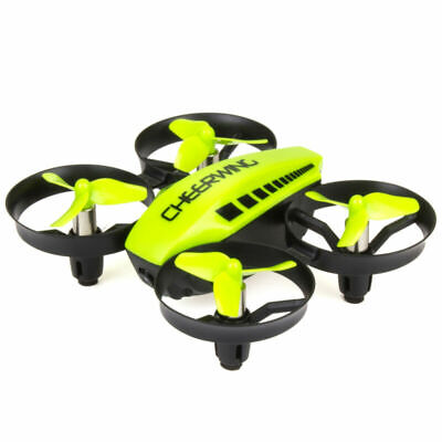 Cheerwing CW10 Mini RC Wifi FPV Drone with Camera Quadcopter Altitude Hold Green