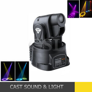 DJ PAIR OF MINI LED MOVING HEAD LIGHTS