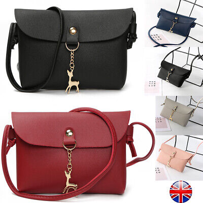 UK Women Small Handbag Shoulder Tote Satchel Lady Purse Messenger Cross Body Bag