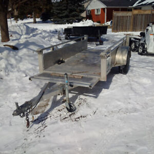 """Millroad all aluminumutility trailers MS49DW 49""""x110"""""""