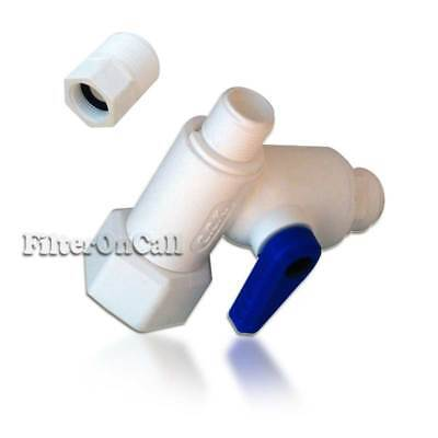 - Angle Stop Valve Feed Water Adapter Ball valve 3/8